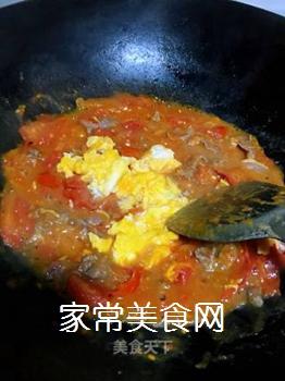 牛肉炒番茄的做法步骤:11