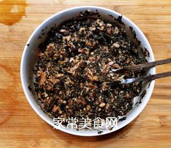 梅菜干肉丸的做法步骤:2