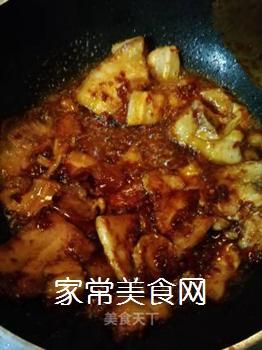 传统回锅肉的做法步骤:10