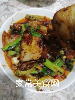 传统回锅肉的做法步骤:15