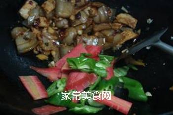 青椒回锅肉的做法步骤:10