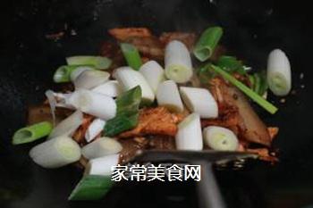 青椒回锅肉的做法步骤:12