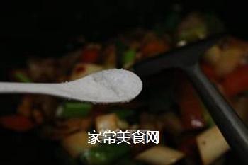 青椒回锅肉的做法步骤:13