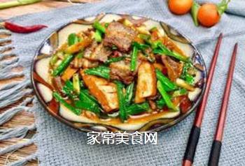川菜之首~豆腐干回锅肉的做法步骤:10