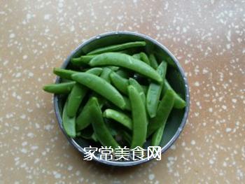 甜豆炒回锅肉的做法步骤:4
