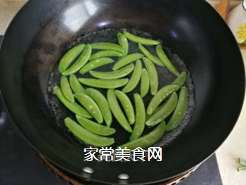 甜豆炒回锅肉的做法步骤:5