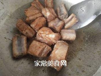 砂锅糖醋排骨的做法步骤:4