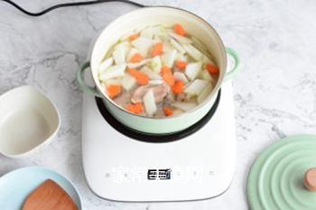 排骨冬瓜汤的做法步骤:7