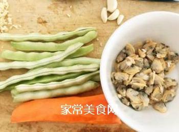 排骨蚬子时蔬面的做法步骤:5