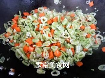排骨蚬子时蔬面的做法步骤:8