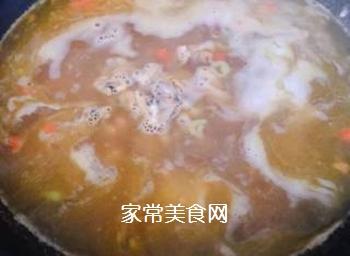排骨蚬子时蔬面的做法步骤:10