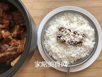 荷香排骨饭的做法步骤:6