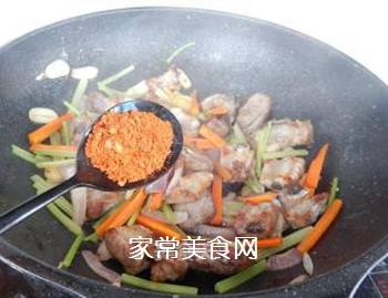 家常干锅排骨的做法步骤:9