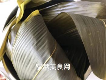 排骨蛋黄粽的做法步骤:3