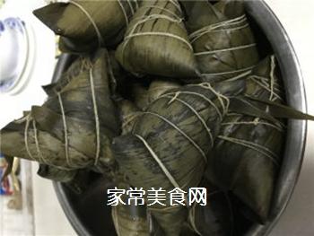排骨蛋黄粽的做法步骤:11
