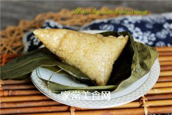 排骨蛋黄粽的做法步骤:12