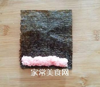 花朵寿司的做法步骤:3