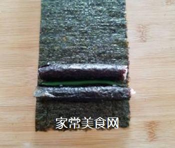 花朵寿司的做法步骤:7