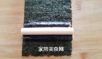 花朵寿司的做法步骤:8