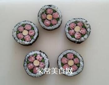 花朵寿司的做法步骤:16