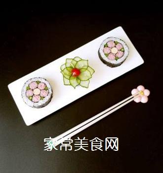花朵寿司的做法步骤:17