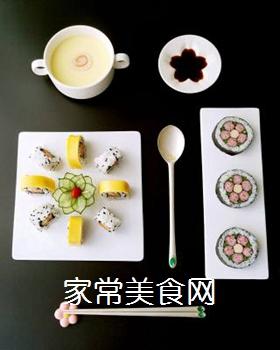 花朵寿司的做法步骤:18
