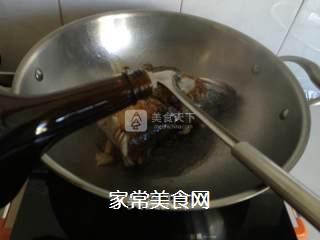 红烧鲈鱼头的做法步骤:4