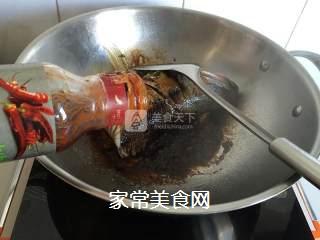 红烧鲈鱼头的做法步骤:6