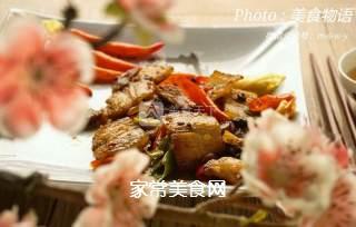 飘香回锅肉的做法步骤:10