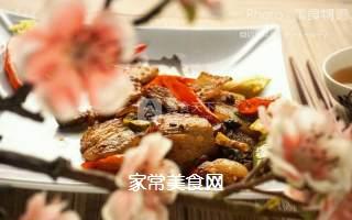 飘香回锅肉的做法步骤:11