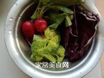 蔬菜柠檬沙拉的做法步骤:1