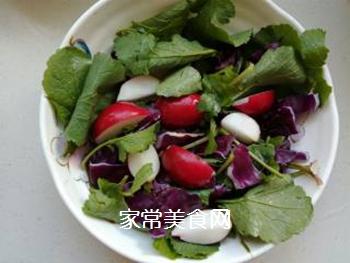 蔬菜柠檬沙拉的做法步骤:4