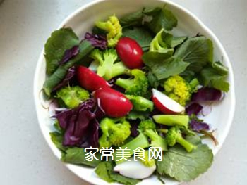 蔬菜柠檬沙拉的做法步骤:5