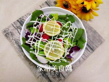 蔬菜柠檬沙拉的做法