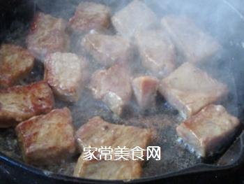 草菇牛排的做法步骤:13