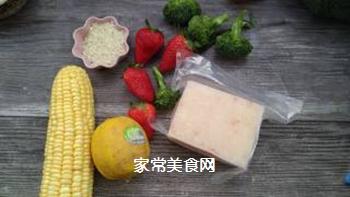 宝宝果蔬磷虾粥的做法步骤:1