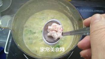 宝宝果蔬磷虾粥的做法步骤:10