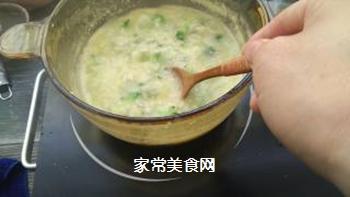 宝宝果蔬磷虾粥的做法步骤:11