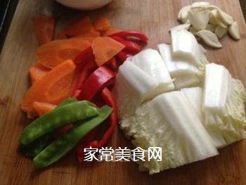 杂蔬小炒的做法步骤:4