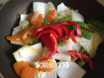 杂蔬小炒的做法步骤:11