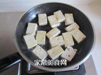 豆腐口蘑西兰花烩鱼丸的做法步骤:2