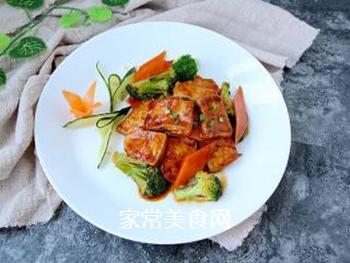 焦溜豆腐的做法步骤:10