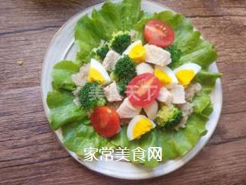藜麦鸡胸肉沙拉的做法步骤:15