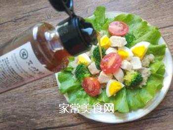 藜麦鸡胸肉沙拉的做法步骤:16