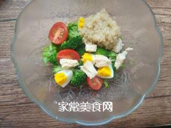 藜麦鸡胸肉沙拉的做法步骤:20