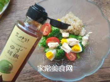 藜麦鸡胸肉沙拉的做法步骤:21
