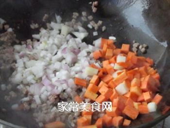 咖喱土豆牛肉拌饭的做法步骤:3