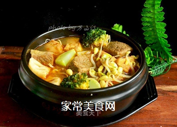 牛肉麻辣香锅的做法