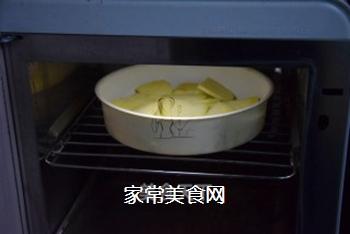薯蓉芝士焗西兰花的做法步骤:2