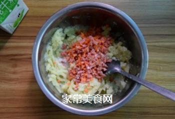 薯蓉芝士焗西兰花的做法步骤:5